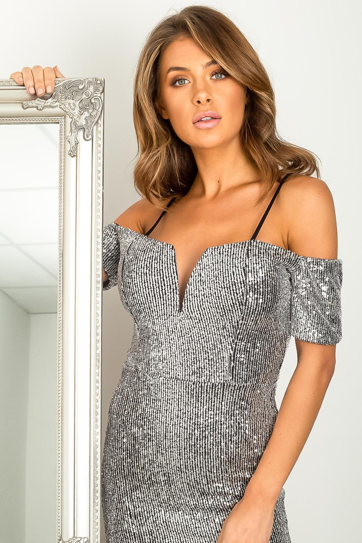 sliver dress