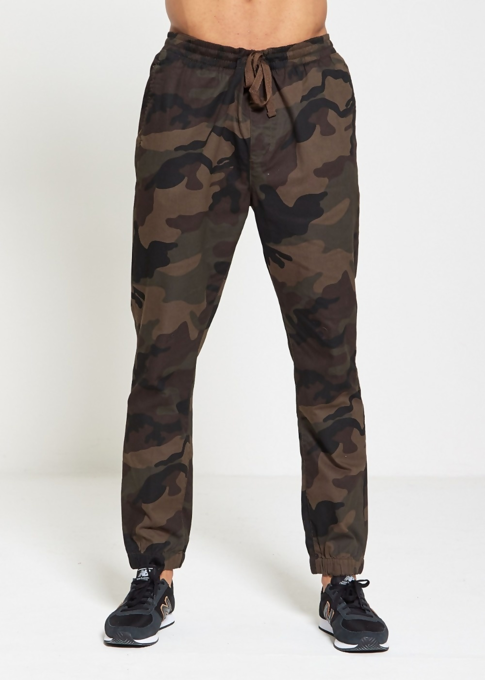 clearance clearance great look Mens Camo Cuff Twill Trousers