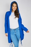 Royal Sequin Angel Wings Hooded Cardigan