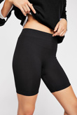 Black Basic Seamless Cycle Shorts