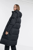 Black Maxi Puffer Coat