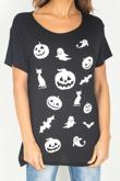 Black Spooky Halloween T-Shirt