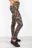 Camo Cargo Pocket Detail Skinny Jeans
