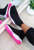 Fuchsia Runner Sock Trainer
