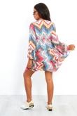 Leopard Print Zig Zag Ruffle Dress