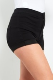 Black High Waist Classic Joni Shorts