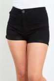 Black High Waist Classic Joni Shorts