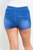 Denim High Waist Joni Shorts