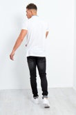 Mens Black Fresh Out Of Scouts Distressed Jeans