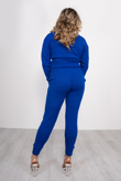 Royal Blue Loungewear Knitted Joggers and Jumper Set