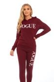 Wine Vogue Loungewear Set