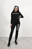 Black Vogue Hooded Tracksuit