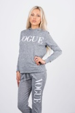 Grey vogue hooded tracksuit