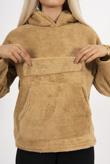 Mustard Teddy Pullover Hoodie