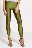 Green Shiny Disco Leggings