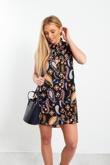 Multi Coloured Paisley Shirt Dress