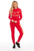 Red Nothing To Declare Customized Loungewear