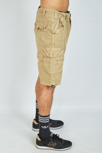 Charcoal Mens Cargo Shorts
