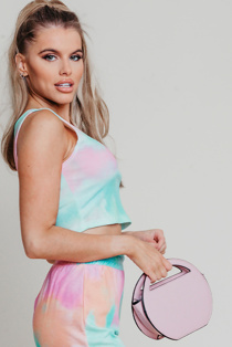 Hayley Hughes Modelled Rose Mini Round Grab Bag