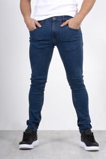 Men's blue skinny jeans