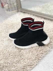 Chunky Sole High Runner Sock Trainers