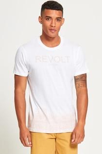 Mens Pink Be Free Revolt T-Shirt