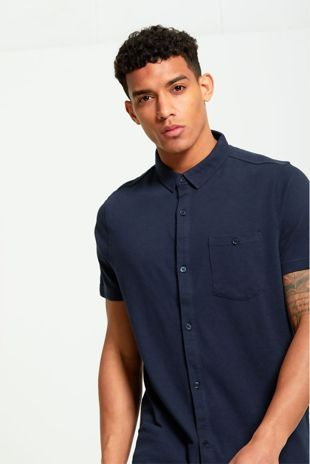 Pocket Detail Long Shirt
