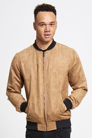 Mens Suede Jacket From Brave Soul