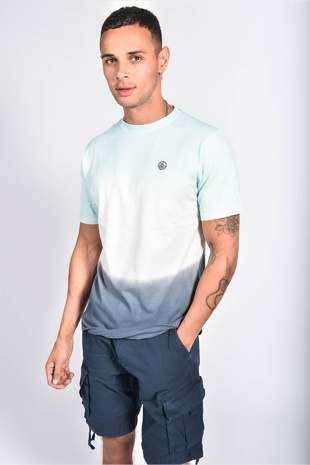 Mens Multi Ombre Muscle Fit T-Shirt