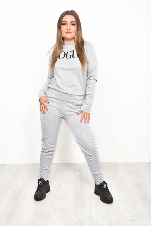 Grey Vogue Loungewear Set