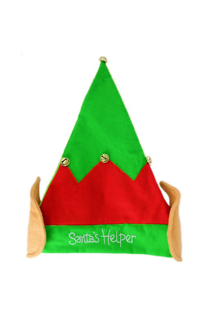Green Santas Helper Elf Hat