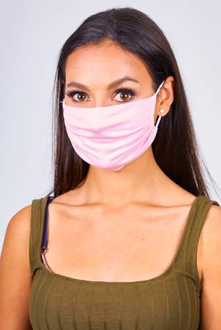 Pink Re-Usable Anti Dust Hygiene Face Mask