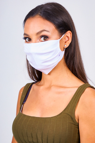 White Re-Usable Hygiene Face Mask