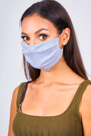 Grey Re-Usable Hygiene Face Mask