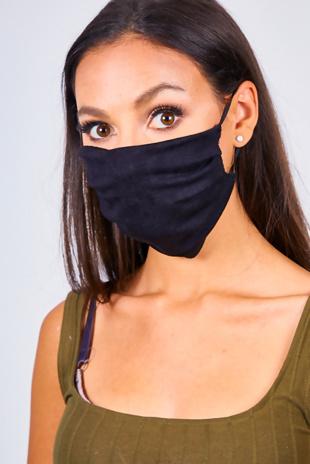 Black Re-Usable Hygiene Face Mask