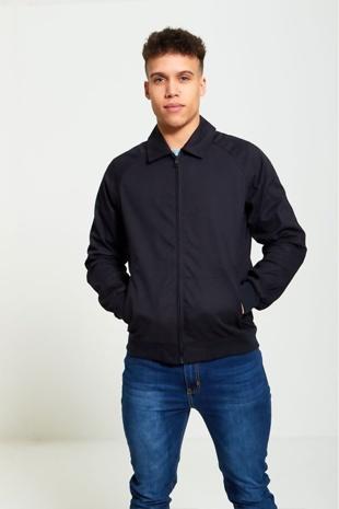 Mens Navy Light Weight Jacket