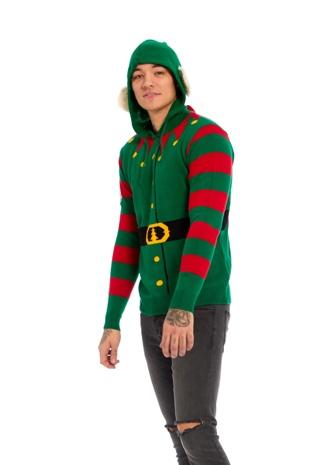 Mens Elf Body Christmas Jumper