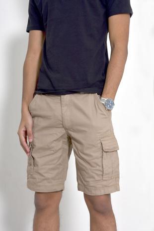 Mens Stone Bute Cargo Shorts