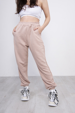 Light Pink Oversized Joggers