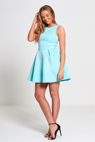 Baby Blue Classic Any Occasion Dress