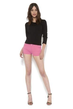 Basic Plain Pink Shorts