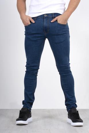 Mens blue skinny jeans