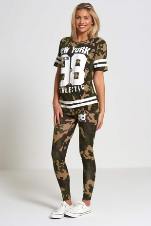 Camo New York Brooklyn 98 Tracksuit