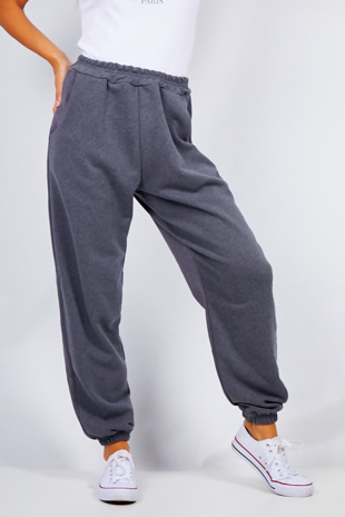 Charcoal Oversized Joggers
