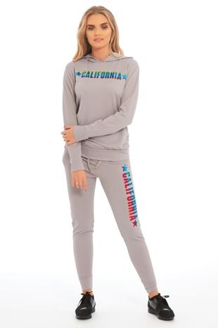 Grey California Loungewear Set