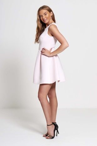 Pink Classic Any Occasion Dress