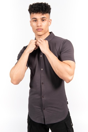 Short Sleeve Muscle Fit Jersey Shirt