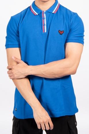 Colbalt Mateo Cotton Pique Polo Shirt