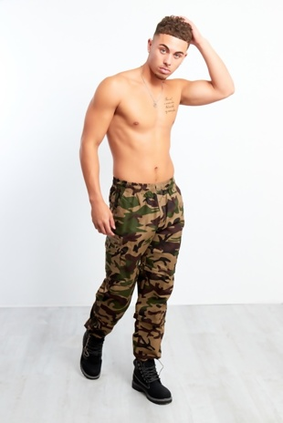 Mens Camouflage 3 In 1 Zip Off Trouser