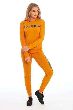 Mustard California Loungewear Set